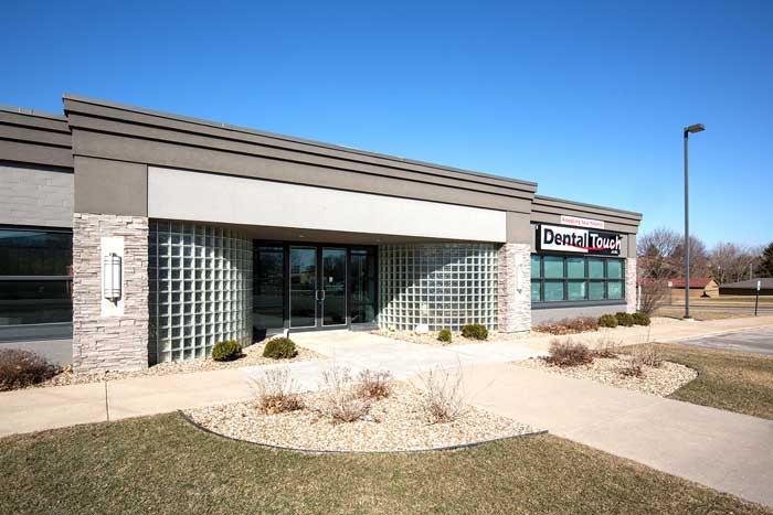 dental office exterior - Dental Touch Associates in Cedar Rapids, IA