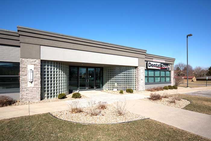dental office exterior - Dental Touch Associates in Cedar Rapids, IA