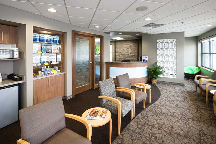 dental waiting room - Dental Touch Associates in Cedar Rapids, IA