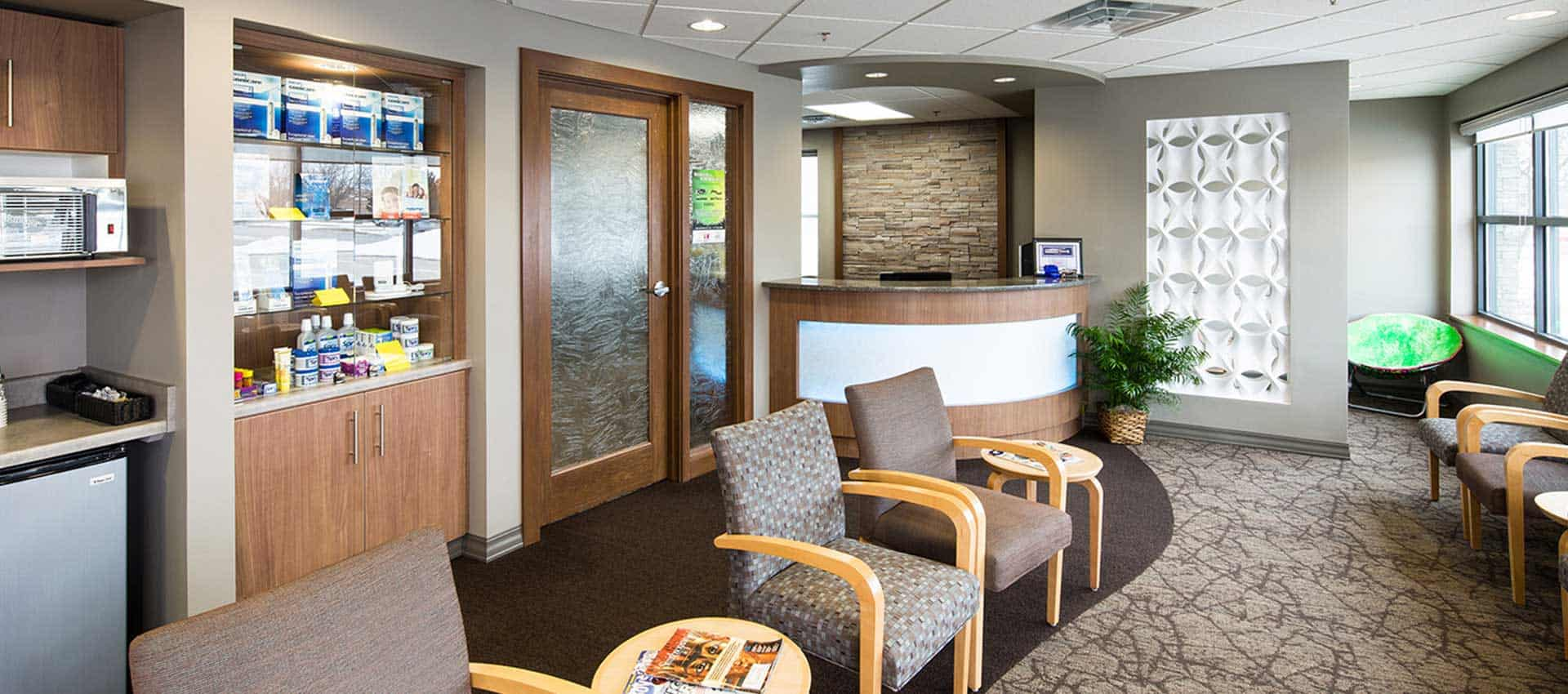 dental office waiting room - Dental Touch Associates in Cedar Rapids, IA